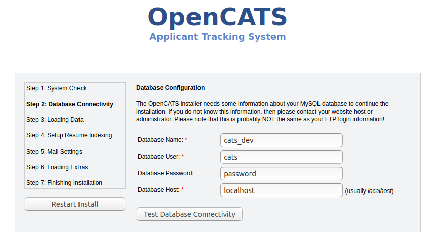 OS X - OpenCATS Installation Instructions — OpenCATS 0.9.3 ...