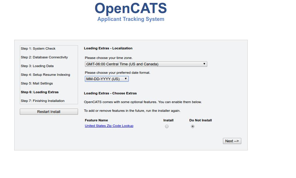 Windows Opencats Installation Instructions Opencats 0